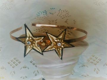 Sale retail: Serre tete étoile, headband