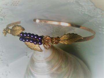 Sale retail: serre tete Lavande, headband