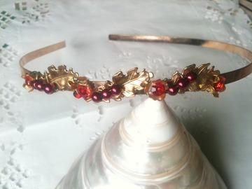 Sale retail: serre tete fleur Houx, headband
