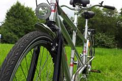 "Tandemverleih: Trekkingbike-Tandem ""Silberpfeil"" mieten in Düsseldorf"