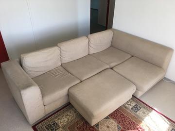 Myydään: Large Beige Couch/Sofa