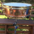 Selling with online payment or cash/check/money order/cash app/Venmo: Pearl 4x14 Smitty Smith copper snare $289 obo