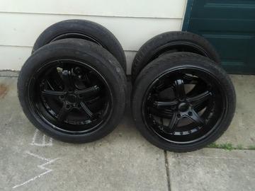 Selling: 18x9.5 | 5x120 | TSW wheels for sale