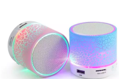 Sell: (200) LED Bluetooth Speaker Portable Mixed Colors Lot NEW