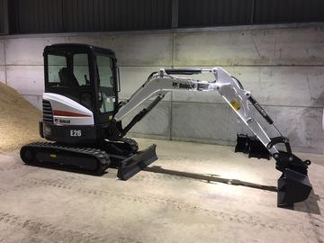 Daily Equipment Rental: Bobcat E26 (new)