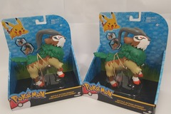 Sell: 16 x Official Pokemon Battle Action Gogoat Action Figures