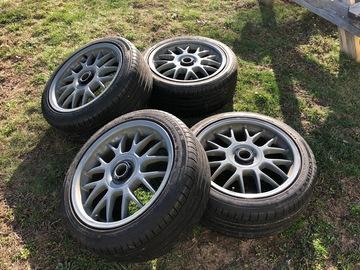 Selling: 17x8 | 5x112 | TSW Hockenheim R's wheels for sale
