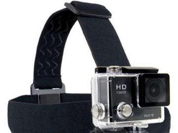 Myydään: (UNUSED/New)GoPro/Action Camera Headstrap mount tripod.