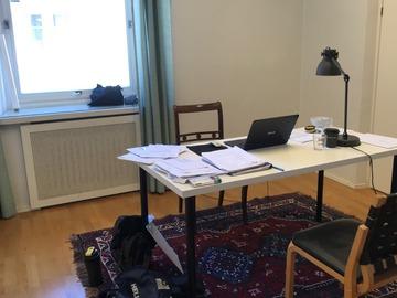 Renting out: Valoisa toimisto-/työhuone Helsingin keskusta, Rikhardinkatu