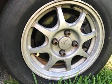 "Selling: 15"" | 4x100 | HONDA HX wheels for sale"