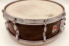 Selling with online payment: Premier 5x14 Royal Ace Mahogany Duroplastic Snare drum
