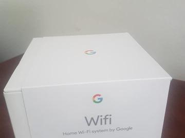Myydään: New unopened Google WiFi home system
