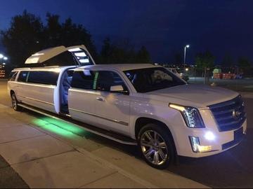 Per Hour: Cadillac Escalade Limousine - 20 Passengers (4 Hr. Min)