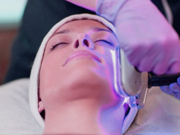 Offering Services: Acne blue light therapy - Normally $95