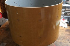 Void: raw & finished shells, Keller, Gretsch, Rogers, Ludwig