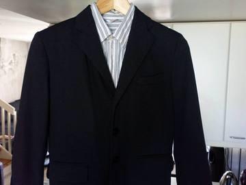 Ilmoitus: Musta Luhdan puku 140cm, D-mitoitus