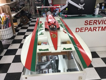 Selling: Miss Tosti Asti 1/8 Scale Nitro Hydroplane