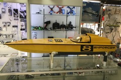 """Selling: Enforcer 52"""" Gas RC Boat Hull"""
