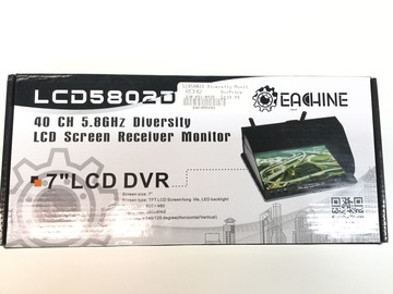 "Selling: 7"" LCD DVR"