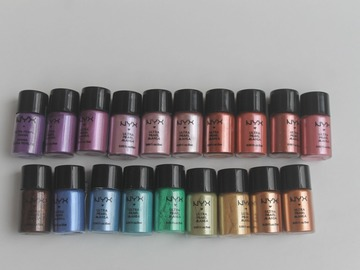 Venta: Pack de pigmentos de NYX