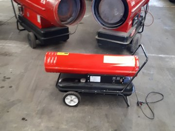 Daily Equipment Rental: COMMERCIAL DIESEL POWERED HEATER 105KW
