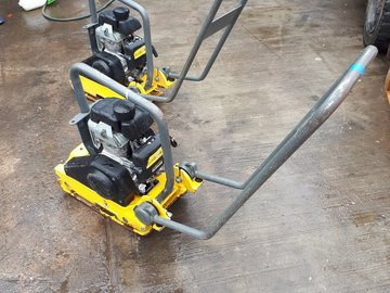 Daily Equipment Rental: Wacker Plate Hire