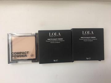 Venta: Polvos Lola Makeup y H&M
