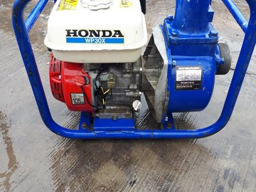 Daily Equipment Rental: Water Pump