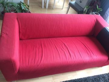 Myydään: Red Sofa for free