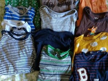 Myydään: Children's clothes pack of 12 bodies 86-98
