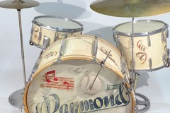 Not So Modern Drummer Article : French Vintage Busato Drum Set Restored