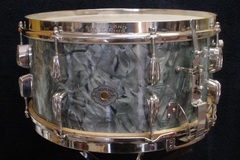 Article: 1947-49 Slingerland 7 x 14 Blue Diamond Pearl Radio King