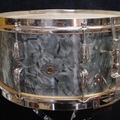 Not So Modern Drummer Article : 1947-49 Slingerland 7 x 14 Blue Diamond Pearl Radio King