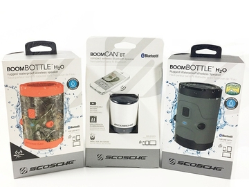 Sell: Scosche boomBOTTLE H2O Bluetooth Speakers, BRAND NEW!