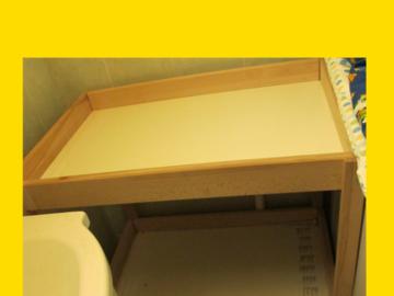 Myydään: Baby changing table
