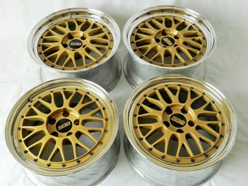 Selling: 17x8 & 17x9 | 5x114.3 | BBS LM Two Piece Wheels for sale