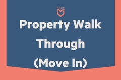 Task: Property Walk-Through -Move In