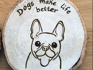 Selling: Bulldog Magnet