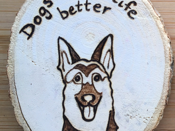 Selling: German Shepard Magnet