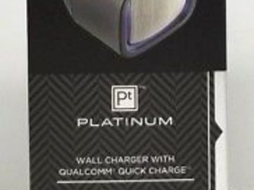Buy Now: 36 x Platinum - Quick Charge Wall Charger - Black