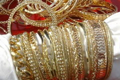 Sell: 500 pcs gold fashion bangle bracelets, LAST CASE!!!