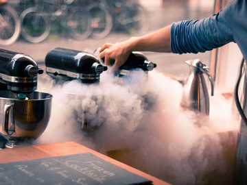 Date: Invent your own liquid Nitrogen Ice Cream