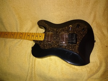 Selling: Occhineri guitar Black Pearl tele