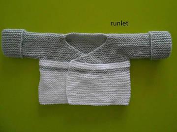 Vente au détail: brassière bébé,brassière bébé laine grise/brassière naissanc