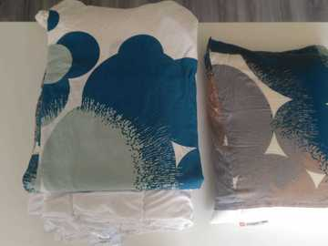 Selling: Duvet + pillow + quilt covers