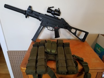 Selling: Vfc ump with extras
