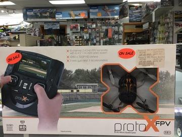 Selling: Estes Proto X FPV micro quadcopter RTF