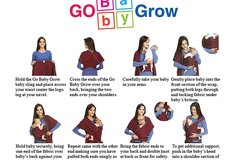 Sell: 25X Grey Baby Sling - Baby Carrier, Nursing Cover, Sling