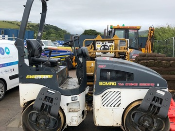 Daily Equipment Rental: Bomag BW120AD Twin Roller
