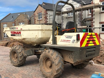 Daily Equipment Rental: Terex PS6000 6Te Swivel Dumper - Self Drive